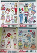 Krumbles World Cut-Out Dolls