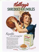 Krumbles Basketball Girl Ad