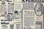 Krumbles Newspaper Ad