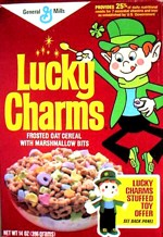 1985 Lucky Charms Box - Suffed Toy