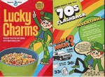 Lucky Charms 70s Flashback Box