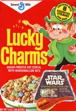 1978 Lucky Charms Cereal Box