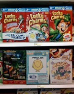 Three 2009 Lucky Charms Boxes