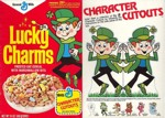 Lucky Charms Character Cutout Box