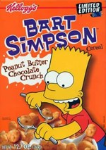Box Front For Bart Simpson Cereal
