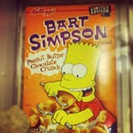 Unopened Bart Simpson Cereal