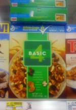 Basic 4 Cereal Box - Spring 2009