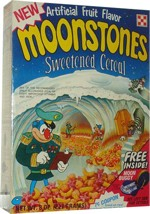 Moonstones Cereal Box