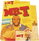 French Mr. T Cereal Box