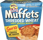 Muffets Shredded Wheat Box