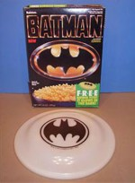 Batman Cereal Frisbee