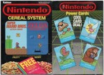 Nintendo Cereal - Power Cards