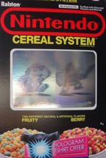 Nintendo Cereal System Box Front 2