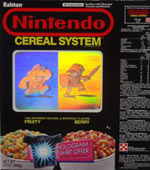 Nintendo Cereal System Box Front