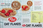 Oat Flakes Box Front & Back