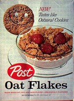 Oat Flakes Cereal Box