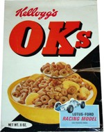 1967 OKs Cereal Box