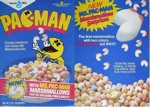 Ms. Pac-Man Marshmallows Box - Front & Back
