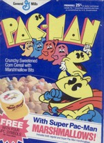 Pac-Man Cereal With Super Marshmallows