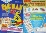 Pac-Man Pee Wee Pencil Stickers Box
