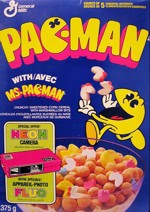 Canadian Box Of Pac Man Cereal