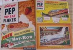 Pep Wheat Flakes Hot Rod Box