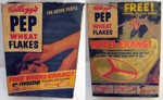 1956 Pep Wheat Flakes Box
