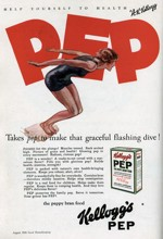 1926 Pep Cereal Ad