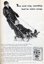 1933 Pep Cereal Ad