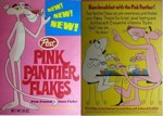 Early Pink Panther Flakes Box