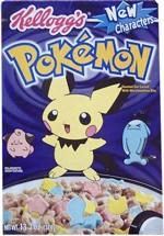 Pokemon Cereal Box
