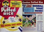 Puffed Rice Baseball Ticket Box