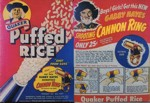 Puffed Rice Gabby Hayes Ring