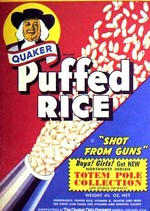 Quaker Puffed Rice Box
