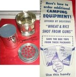 Puffed Wheat Camping Equipment