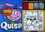 Quisp Cereal Box - Picture & Paints
