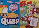 Quisp Quazy Note Pad Box