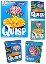 Assorted Quisp Boxes