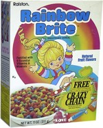 Rainbow Brite Cereal Box