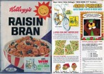 1967 Raisin Bran Box