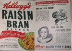 Raisin Bran Fascinating Facts Box