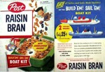 Raisin Bran Boat Kit Box