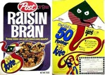Raisin Bran Boa Kite Box