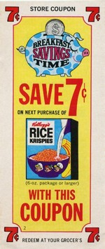 Old Rice Krispies Coupon