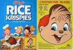 Rice Krispies Chipmunk Mask