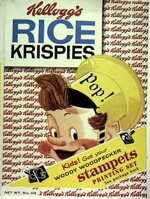 Rice Krispies Cereal Box - Just Pop!