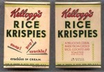 Vintage Rice Krispies Samples