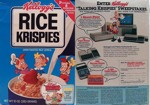 Rice Krispies Talking Krispies Box