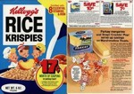 Rice Krispies Parkey Margarine Box