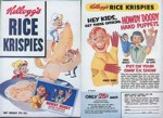 Rice Krispies Howdt Doody Puppets
